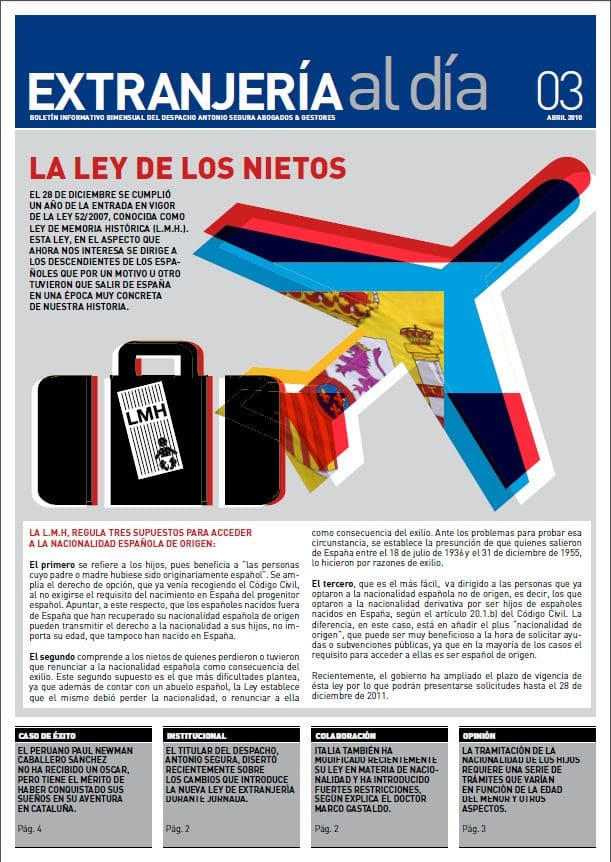 Newsletter - La ley de los nietos